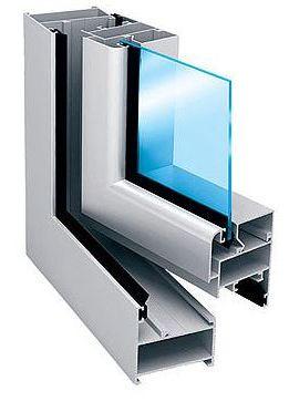 Provedal p400 - алюминиевая система для распашных створок пр.